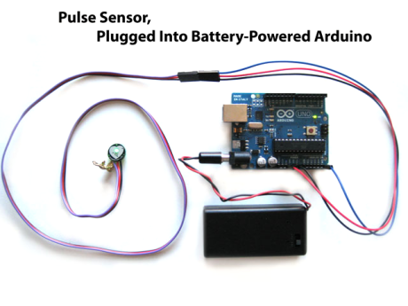 Heart-rate Pulse Sensor for Arduino